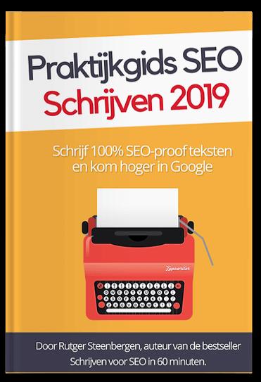 Bestel de Praktijkgids SEO-schrijven 2019
